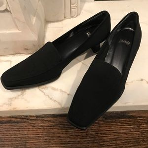 Stuart Weitzman Black loafers with a 1.75 heel
